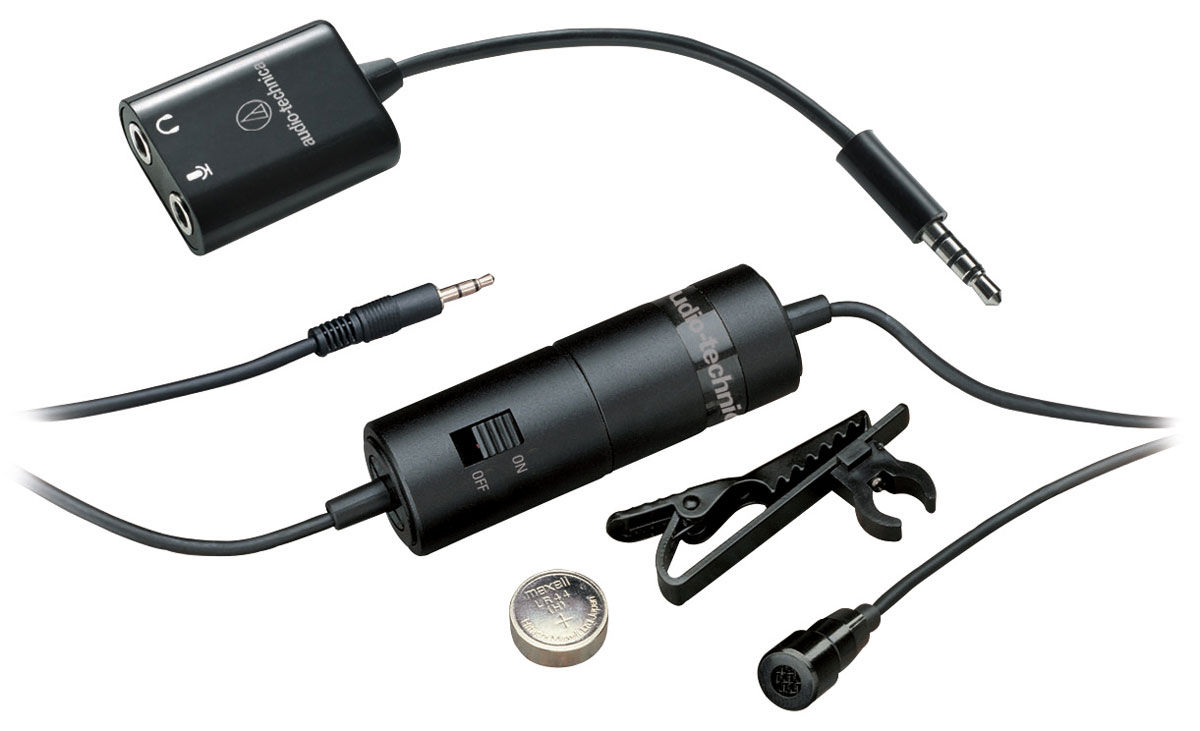 Audio-Technica ATR3350iS микрофон петличный - Микрофоны