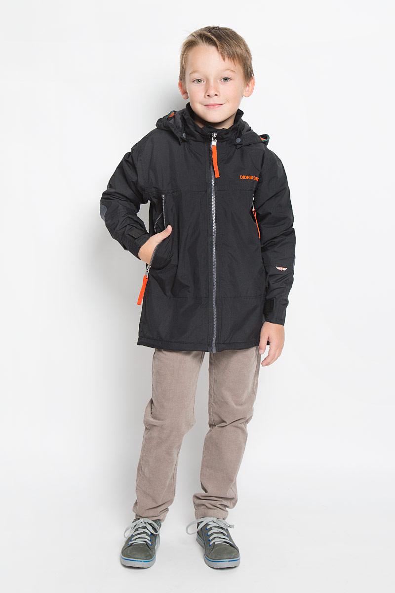 Куртка для мальчика Didriksons1913 Ken Bs Jkt, цвет: черный. 500406_60. Размер 140 купить ken barbie