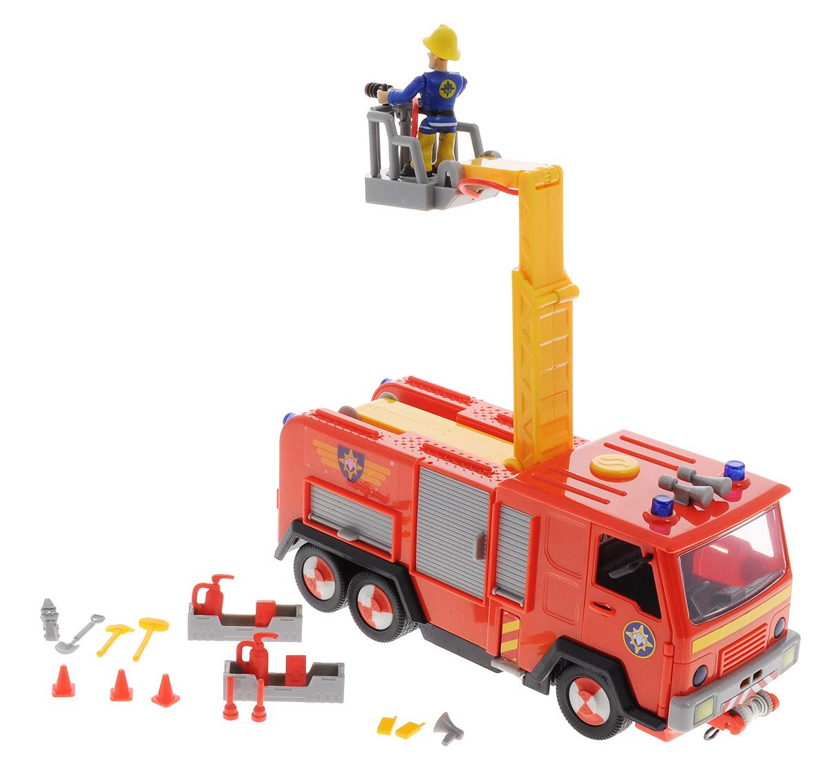 Simba Машинка Пожарный Сэм simba пожарный сэм рупор