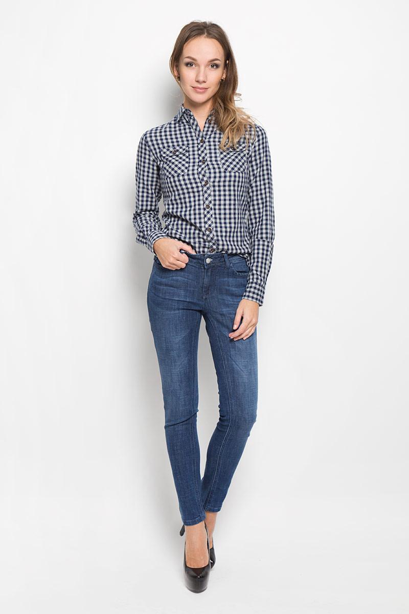 Джинсы женские Lee Cooper, цвет: темно-синий. W10078-1706. Размер 27-32 (42-32) женские джинсы lee
