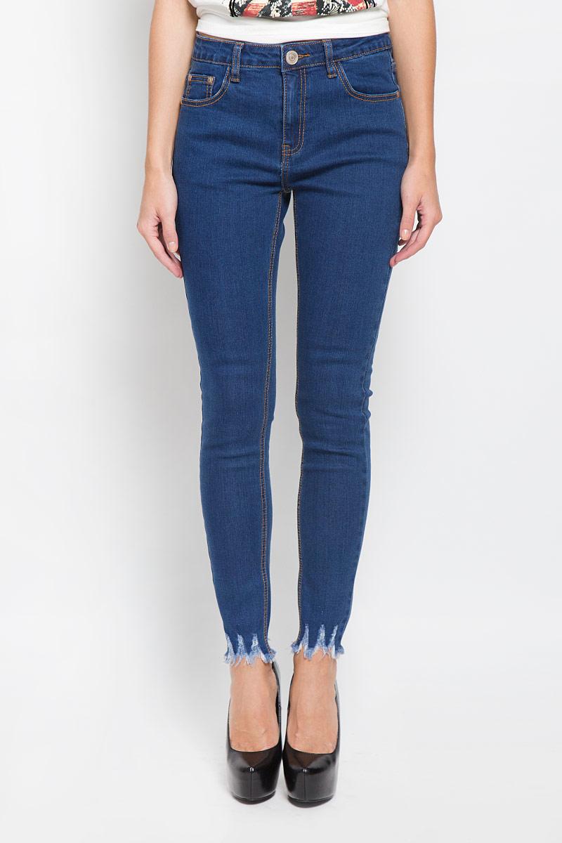 Джинсы женские Glamorous, цвет: темно-синий. CK3247. Размер XS (42) джинсы glamorous glamorous gl008ewqpj61