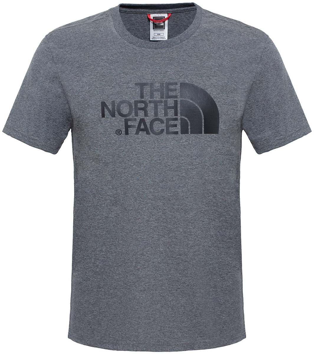 Футболка мужская The North Face M S/S Easy Tee, цвет: серый. T92TX3JBV. Размер XXL (56) футболка the north face the north face youth short sleeve easy tee детская