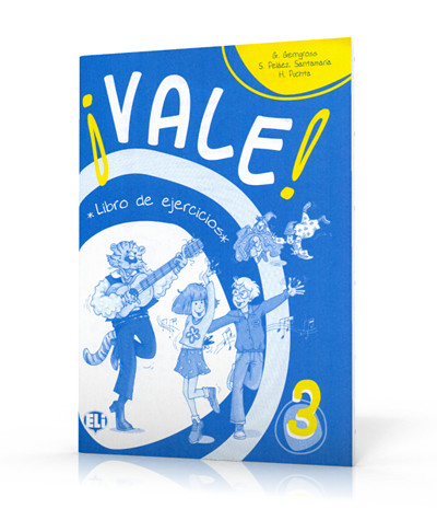 Vale 3: Activity Book grandi amici 3 activity book