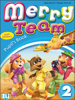 Merry Team 2: Student Book merry team 6 activity book audio cd
