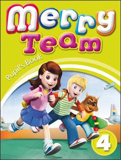 Merry Team 4: Student Book merry team 6 activity book audio cd