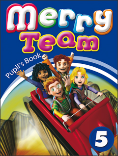 Merry Team 5: Student Book merry team 6 activity book audio cd
