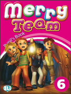 Merry Team 6: Student Book merry team 6 activity book audio cd