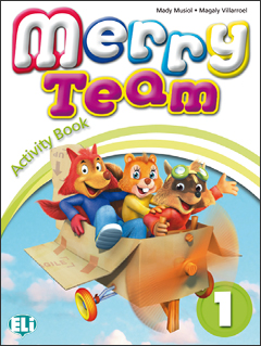 Merry Team 1:  Activity Book (+ CD) merry team 6 activity book audio cd