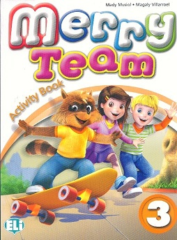Merry Team 3: Activity Book (+ CD) merry team 1 teachers guide class cd