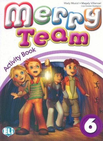Merry Team 6: Activity Book (+ CD) merry team 6 activity book audio cd