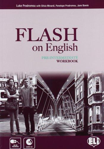 Flash On English Pre-Intermediate:  Work Book (+ CD) mackie g link intermediate wook book