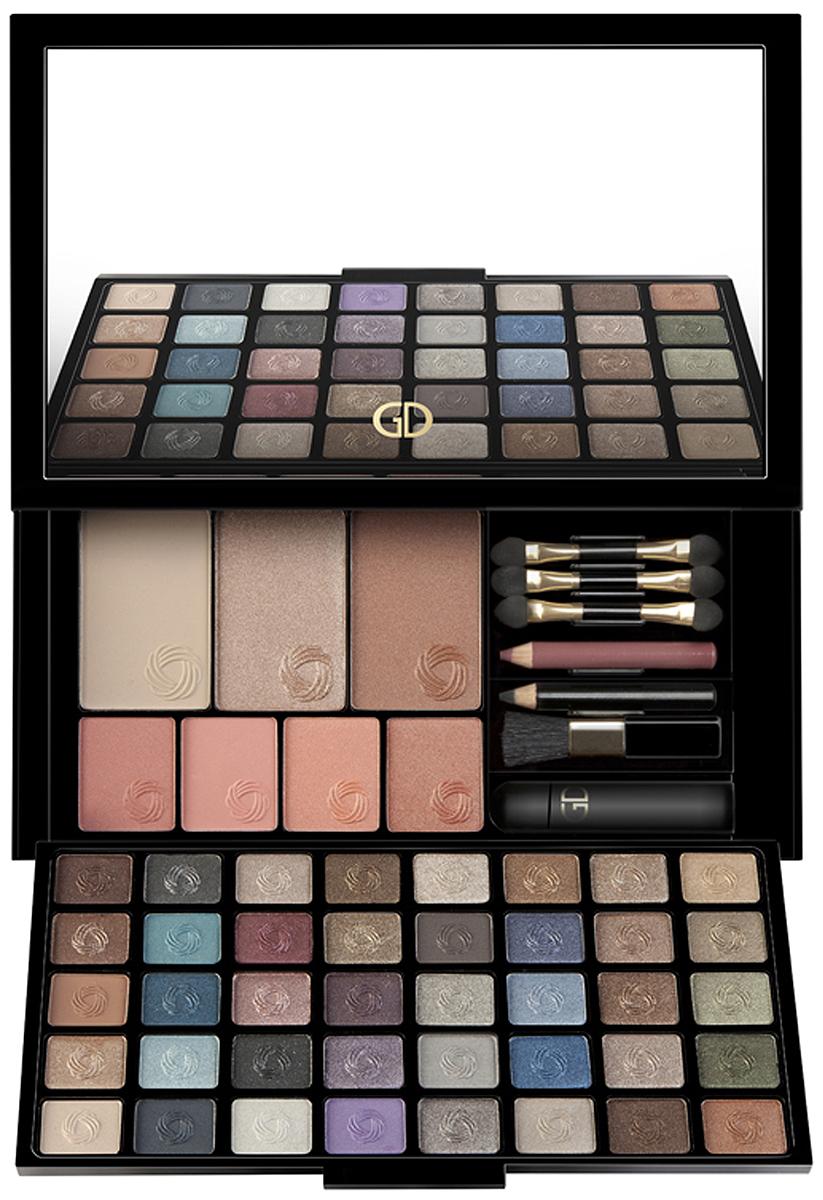GA-DE Набор для макияжа Colorstage, 91,5 г ga de cредство для снятия макияжа с глаз и лица hydrophilick make up remover 200мл