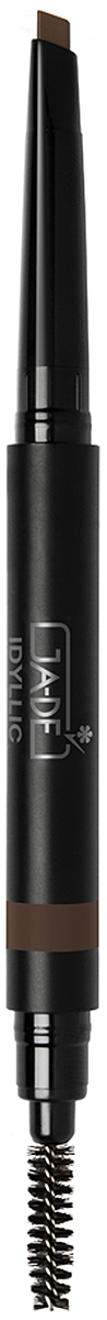 GA-DE Карандаш для бровей Idyllic Satin, тон № 400, 0,2 г тени ga de тени для век двухцветные idyllic soft satin no 42 silver