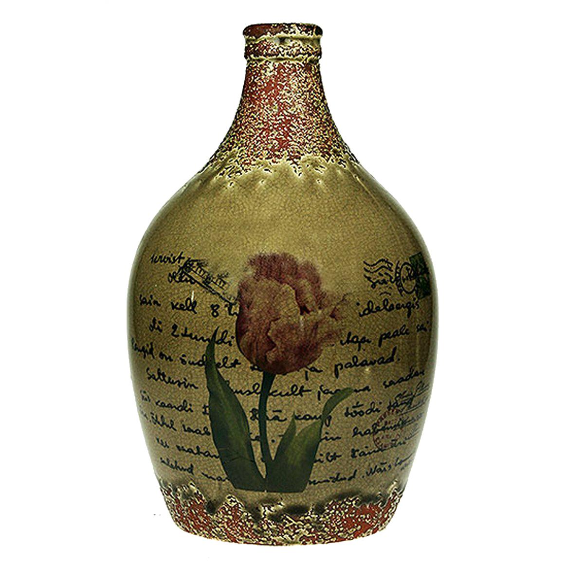 Ваза Русские Подарки Винтаж, высота 31 см. 123710 ваза arwa 20 х 20 х 30 см