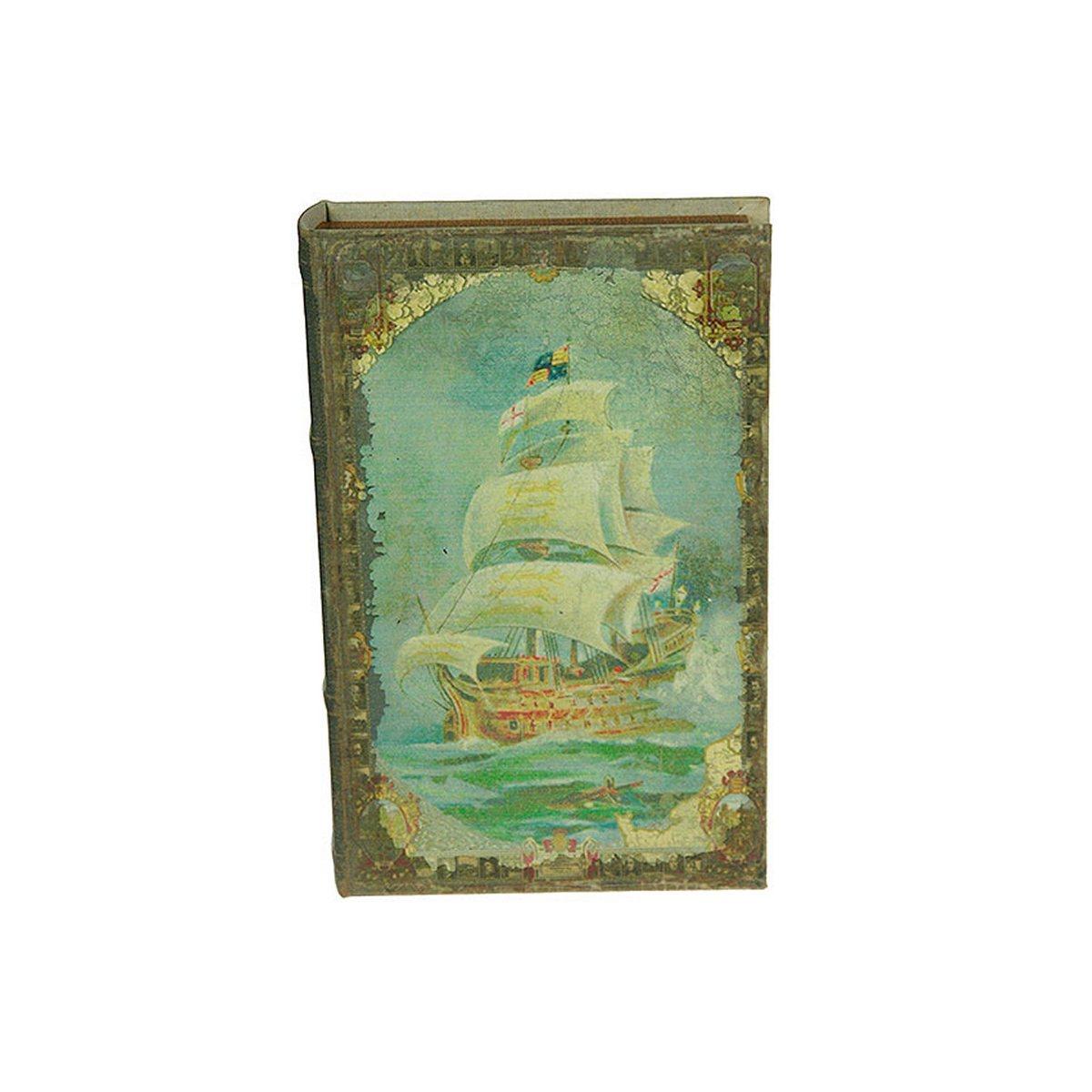 Шкатулка-фолиант Win Max Мореплаватели, 26 х 17 х 5 см. 184247 шкатулка фолиант париж 21 14 3см