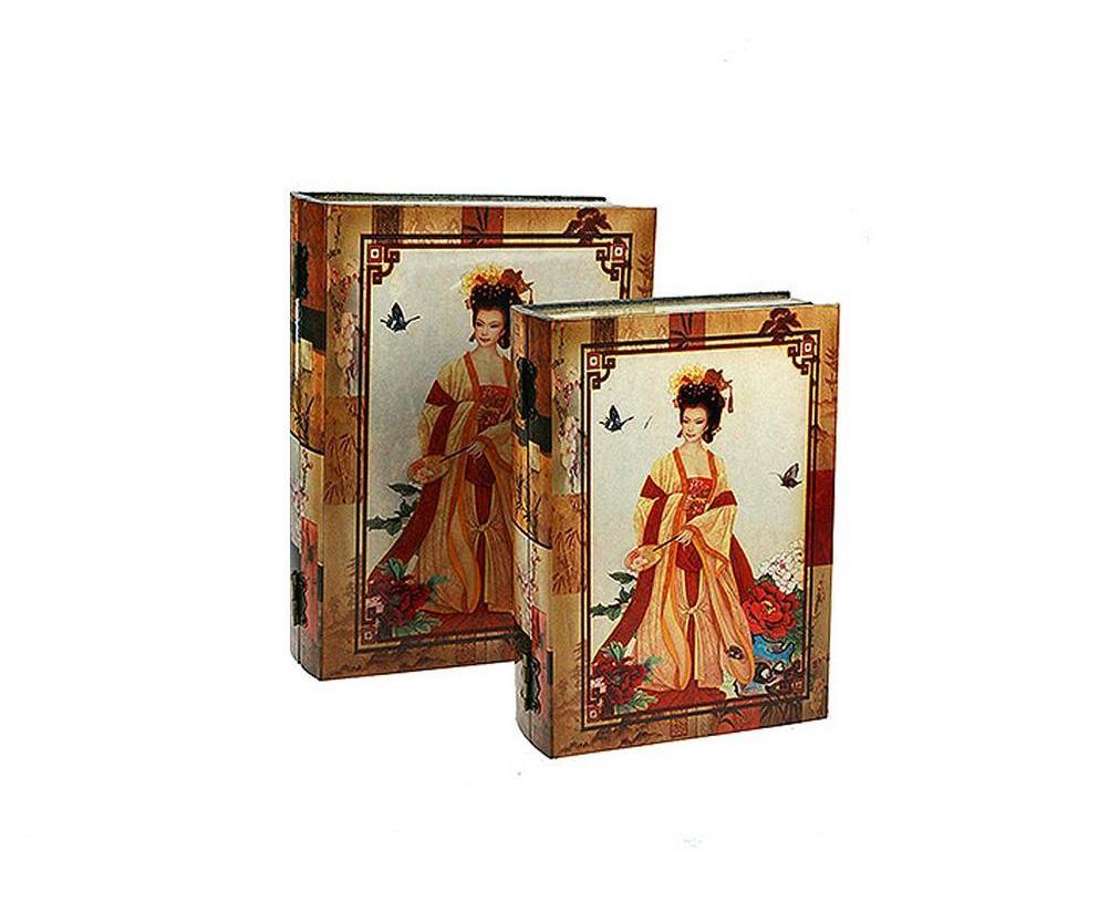 """Набор сундучков """"Roura Decoracion"""" станет полезным и особо желанным подарком для женщин, так как в них можно хранить что угодно, будь то инструменты для рукоделия, украшения или просто маленькие женские секреты.. В комплекте 2 сундучка размером 28 см х 21 см х 8 см."""