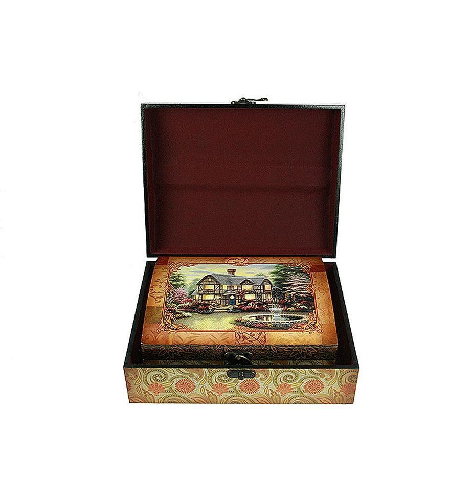 Набор сундучков Roura Decoracion, 2 шт, 30х24х12 см. 34777 набор сундучков roura decoracion 27 х 14 х 10 см 2 шт 34554