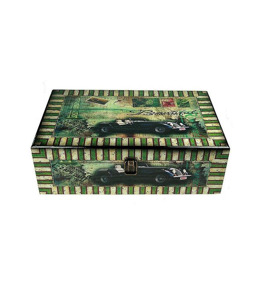 Набор сундучков Roura Decoracion, 2 шт, 41х27х13 см. 34784 набор сундучков roura decoracion 27 х 14 х 10 см 2 шт 34554