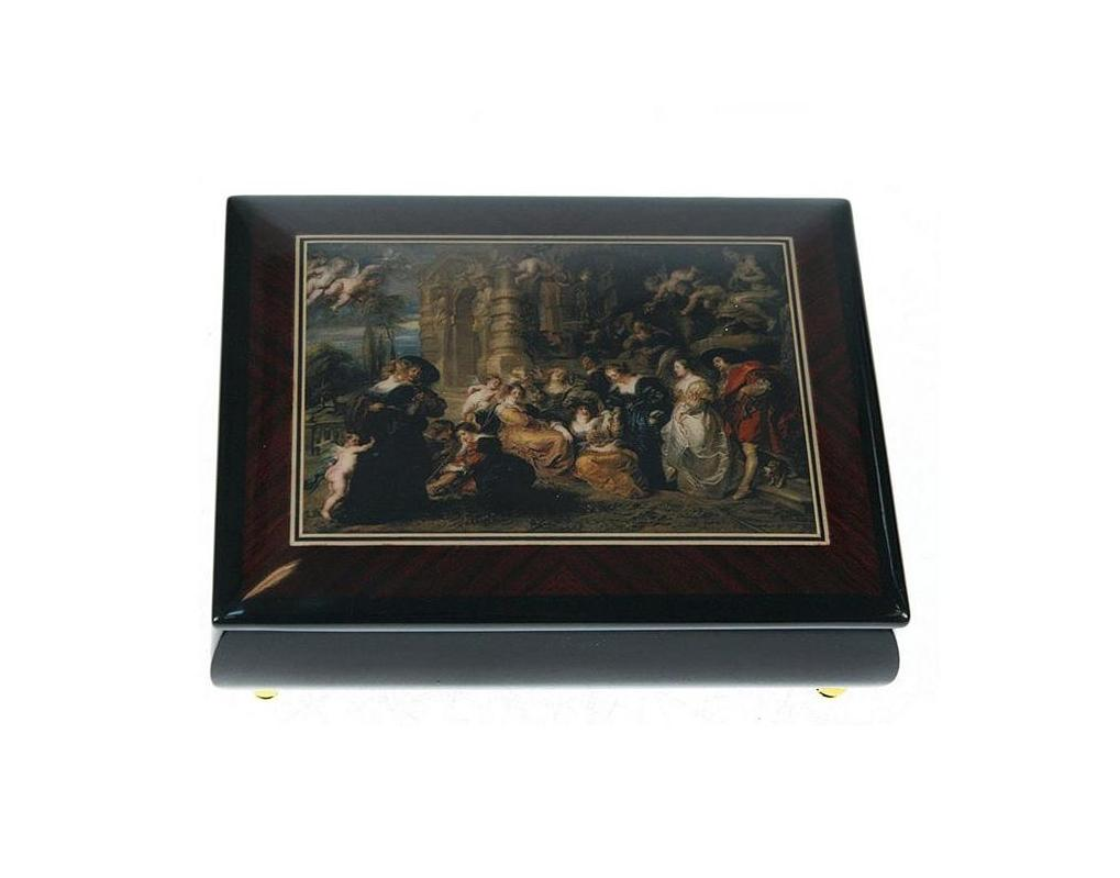 Шкатулка для ювелирных украшений Mercante, 17 х 13 х 6 см. 36154 шкатулки mercante шкатулка для ювелирных украшений