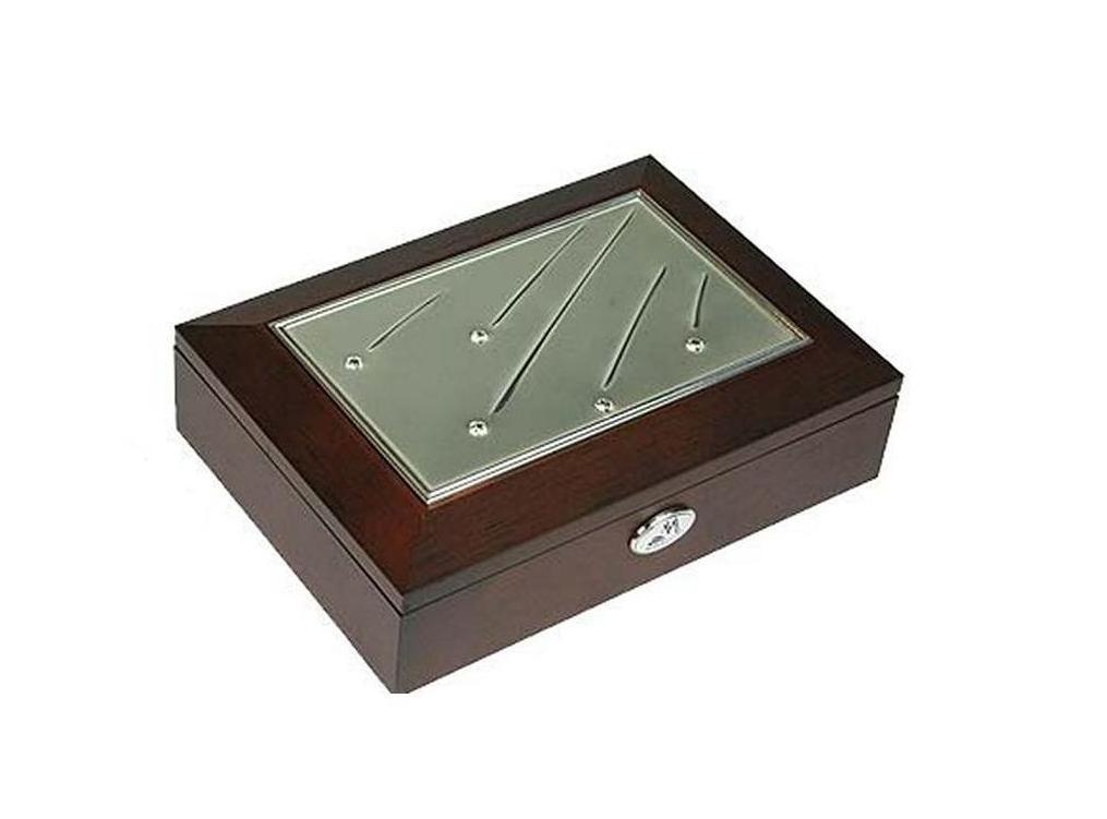 Шкатулка для ювелирных украшений Moretto Кристалл, 18 х 13 х 5 см. 39673