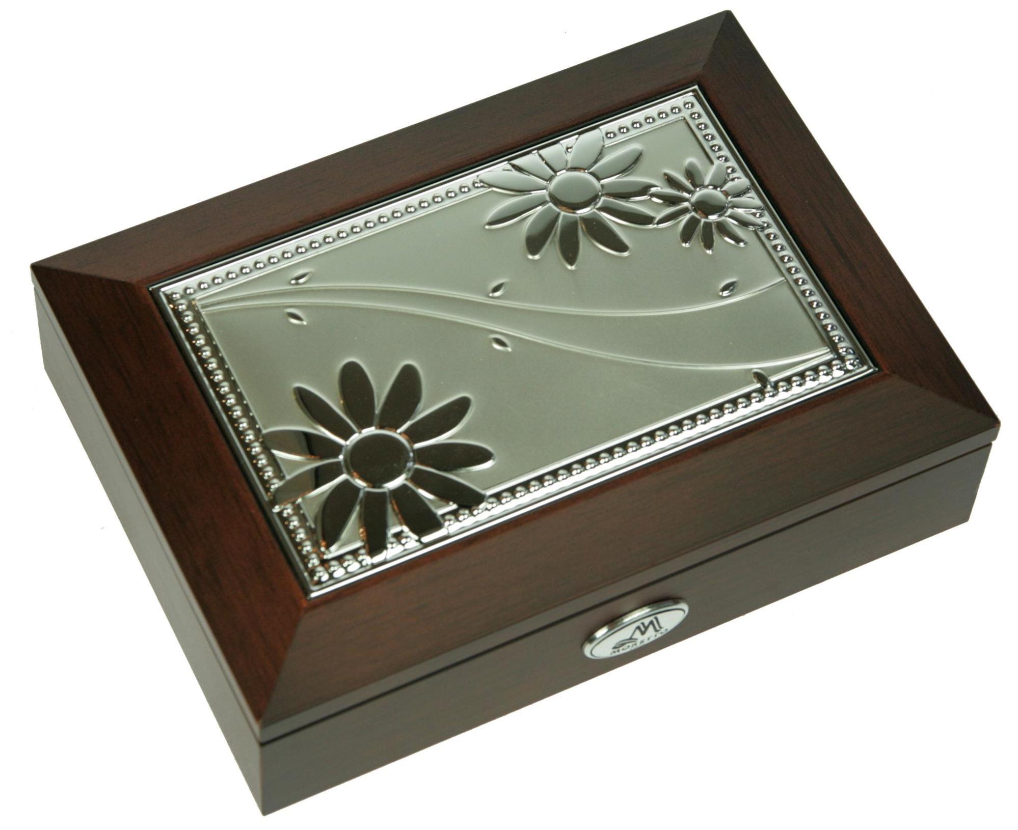 Шкатулка для ювелирных украшений Moretto, 18 х 13 х 5 см. 39849