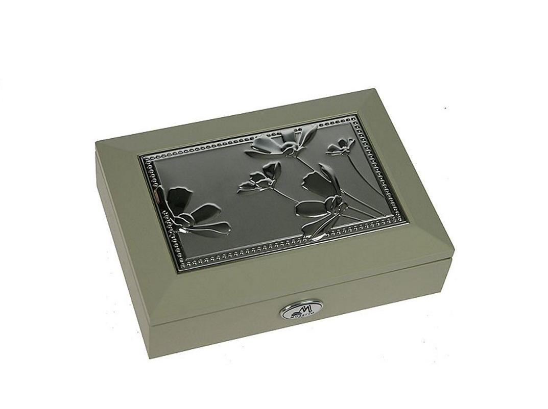 Шкатулка для ювелирных украшений Moretto, 18 х 13 х 5 см. 39937