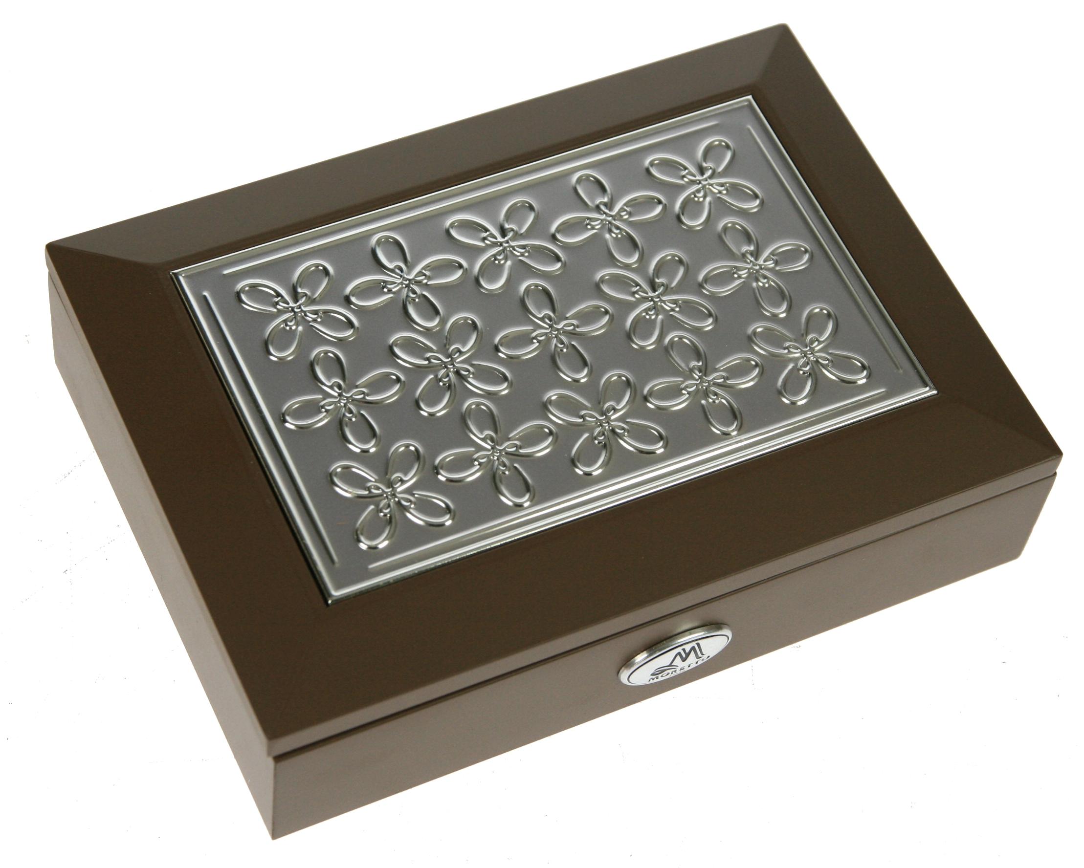Шкатулка для ювелирных украшений Moretto, 18 х 13 х 5 см. 39941 шкатулка для ювелирных украшений moretto 18 х 13 х 5 см 39849