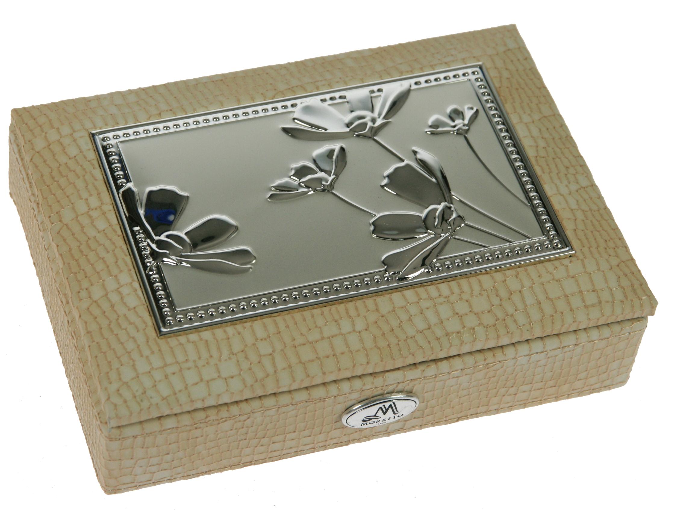 Шкатулка для ювелирных украшений Moretto, 18 х 13 х 5 см. 39943 шкатулка фоторамка ювелирная moretto 24 х 19 х 5 см 139555
