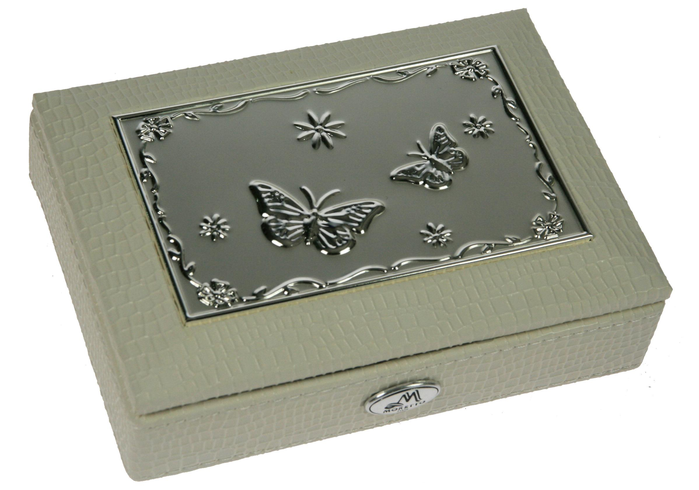 Шкатулка для ювелирных украшений Moretto, 18 х 13 х 5 см. 39945 шкатулка для украшений moretto ромашка 18 13 5 см серая