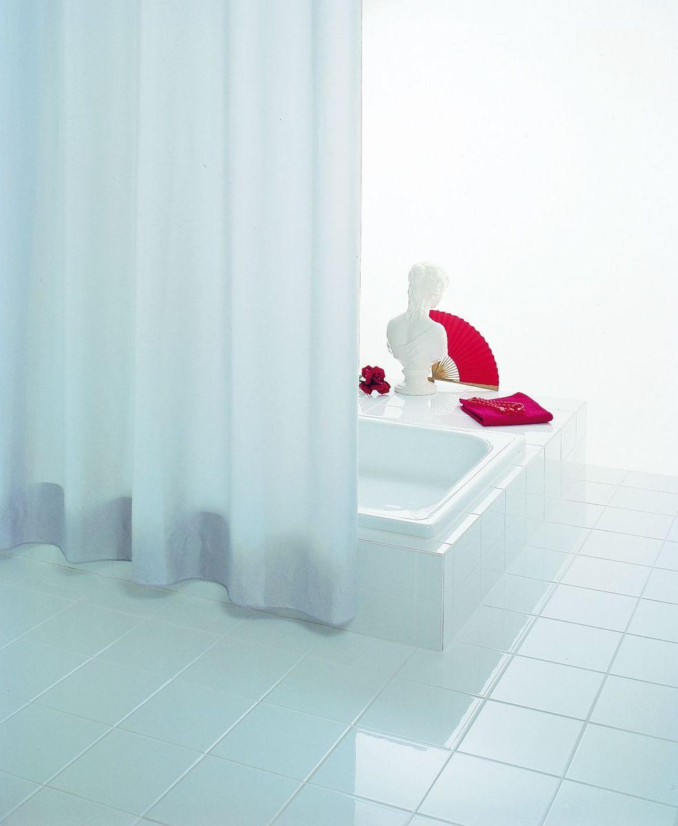 Высококачественная немецкая шторка для душа создает  прекрасное настроение.  Продукты из эколена не имеют запаха и считаются экологически чистыми.