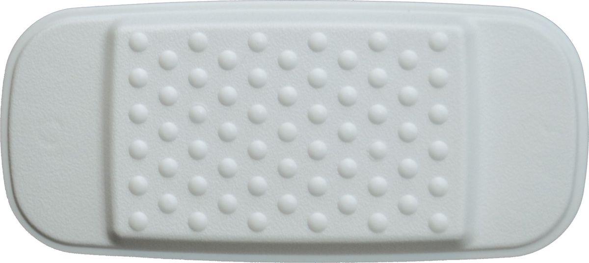 """Подушка """"Ridder"""" обеспечивает  комфорт во время принятия ванны. Крепится на  поверхность ванны при помощи присосок. Выполнена из каучука с защитой от  плесени и грибка.  Размер подушки: 29 х 13,5 см.  Высота подушки: 2 см."""