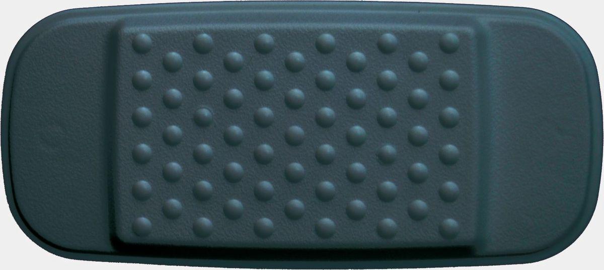 Подушка для ванны Ridder, на присосках, цвет: черный, 29 х 13,5 х 2 см чехол для сноуборда dakine freestyle цвет черный белый 30 х 16 х 157 см