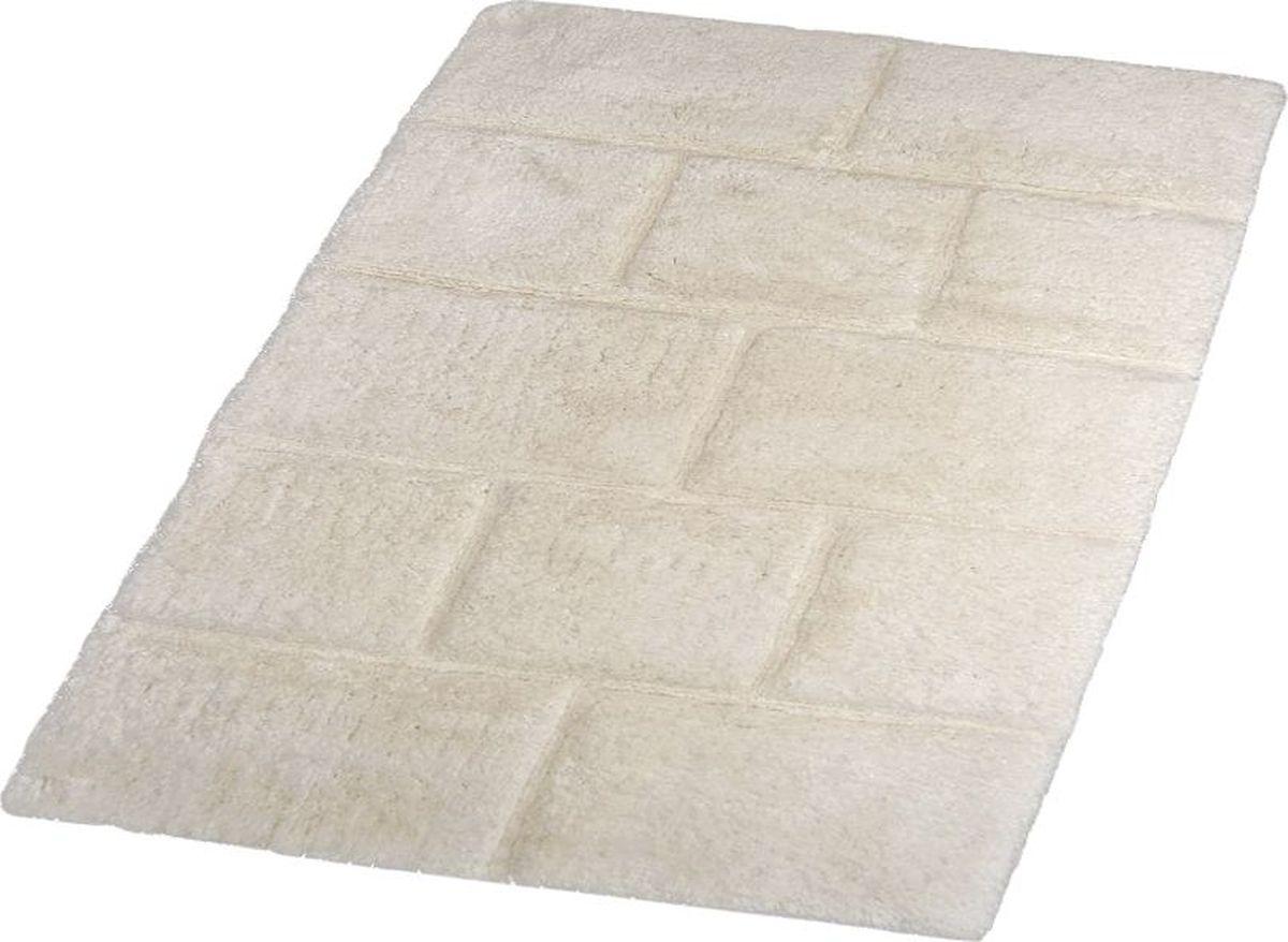 Коврик для ванной Wall выполнен из хлопка. Коврик долго прослужит в вашем доме, добавляя тепло и уют, а также внесет неповторимый колорит в интерьер ванной комнаты. Высота ворса: 16 мм.
