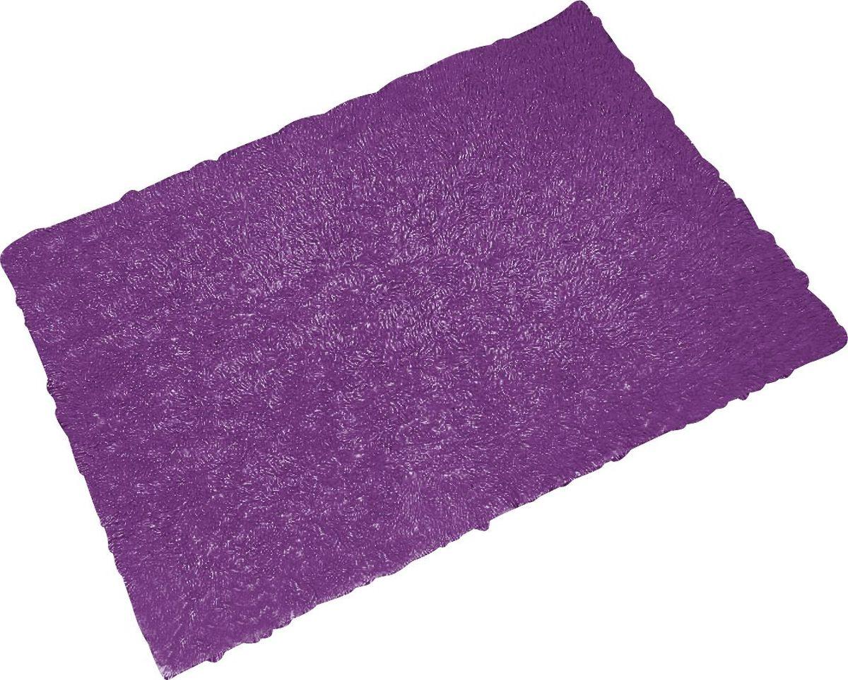 Коврик для ванной Ridder Twist Loop, цвет: фиолетовый, 55 х 85 см