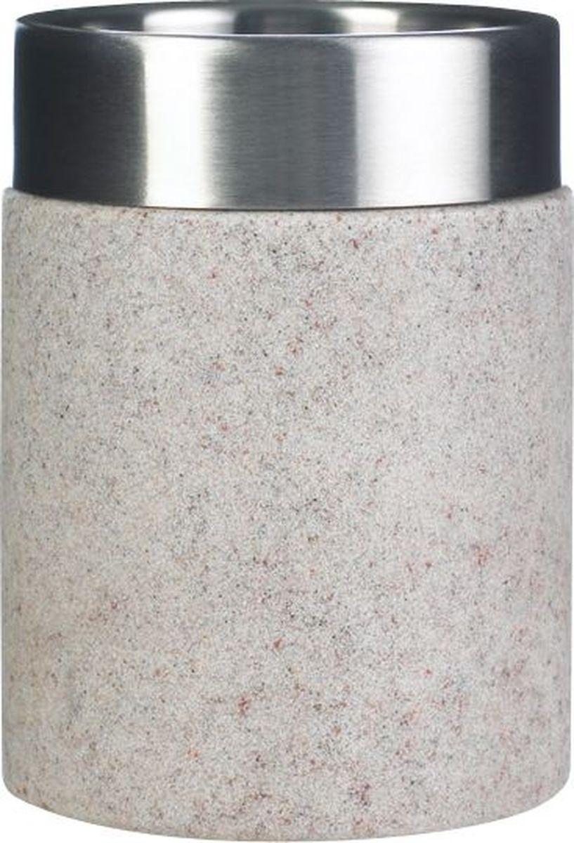 """Стакан для ванной комнаты Ridder """"Stone"""", изготовленный из экологичного полирезина, отлично подойдет для вашей ванной комнаты. Изделие устойчиво к ультрафиолету.  Стакан Ridder """"Stone"""" создаст особую атмосферу уюта и максимального комфорта в ванной."""