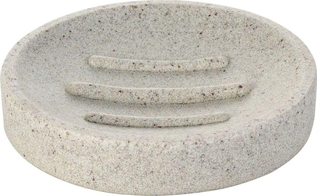 """Мыльница Ridder """"Stone"""" изготовлена из полирезина и устойчива к ультрафиолету. Экологичный полирезин - это твердый многокомпонентный материал на основе синтетической смолы,с добавлением каменной крошки и красящих пигментов."""