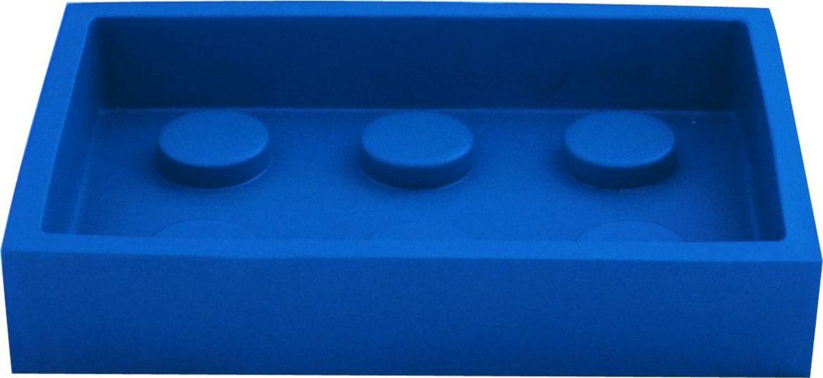 Мыльница Ridder Bob, цвет: синий мыльница ridder bob цвет зеленый