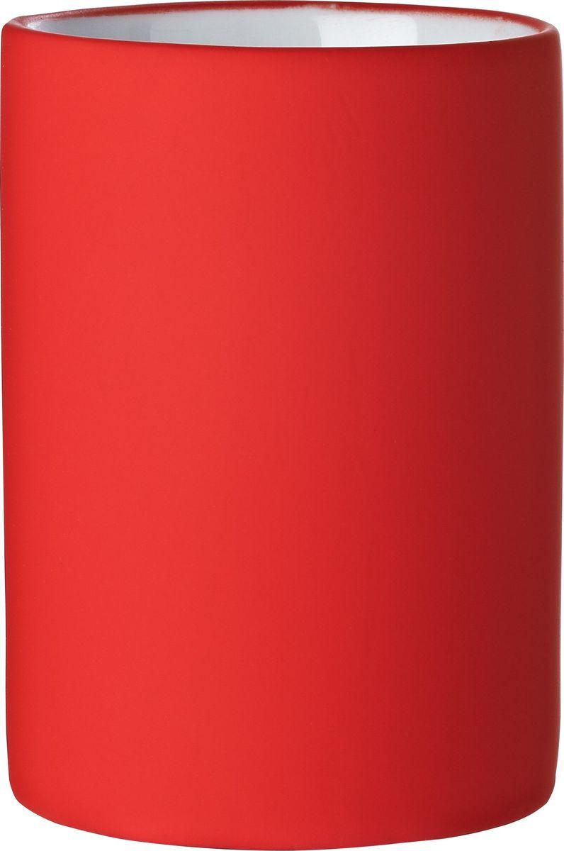 """Стакан изготовлен из керамики и покрыт слоем полирезина.Стакан Ridder """"Elegance"""" создаст особую атмосферу уюта и максимальногокомфорта в ванной."""