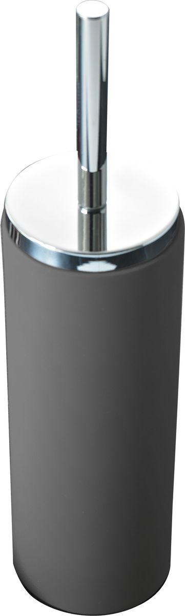 Ершик для унитаза Ridder  Elegance , с подставкой, цвет: серый - Аксессуары для туалетной комнаты