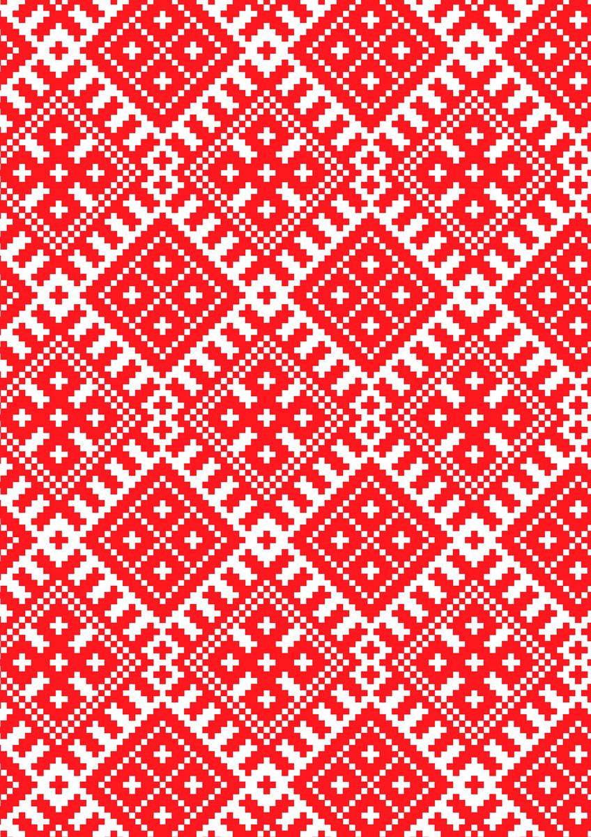 записная книжка 80 листов орнамент 1 18556 Попурри Записная книжка Орнамент 80 листов в клетку/линейку 00576