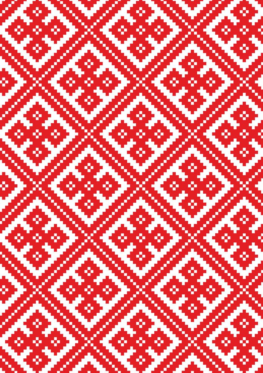 записная книжка 80 листов орнамент 1 18556 Попурри Записная книжка Орнамент 80 листов в клетку 01009