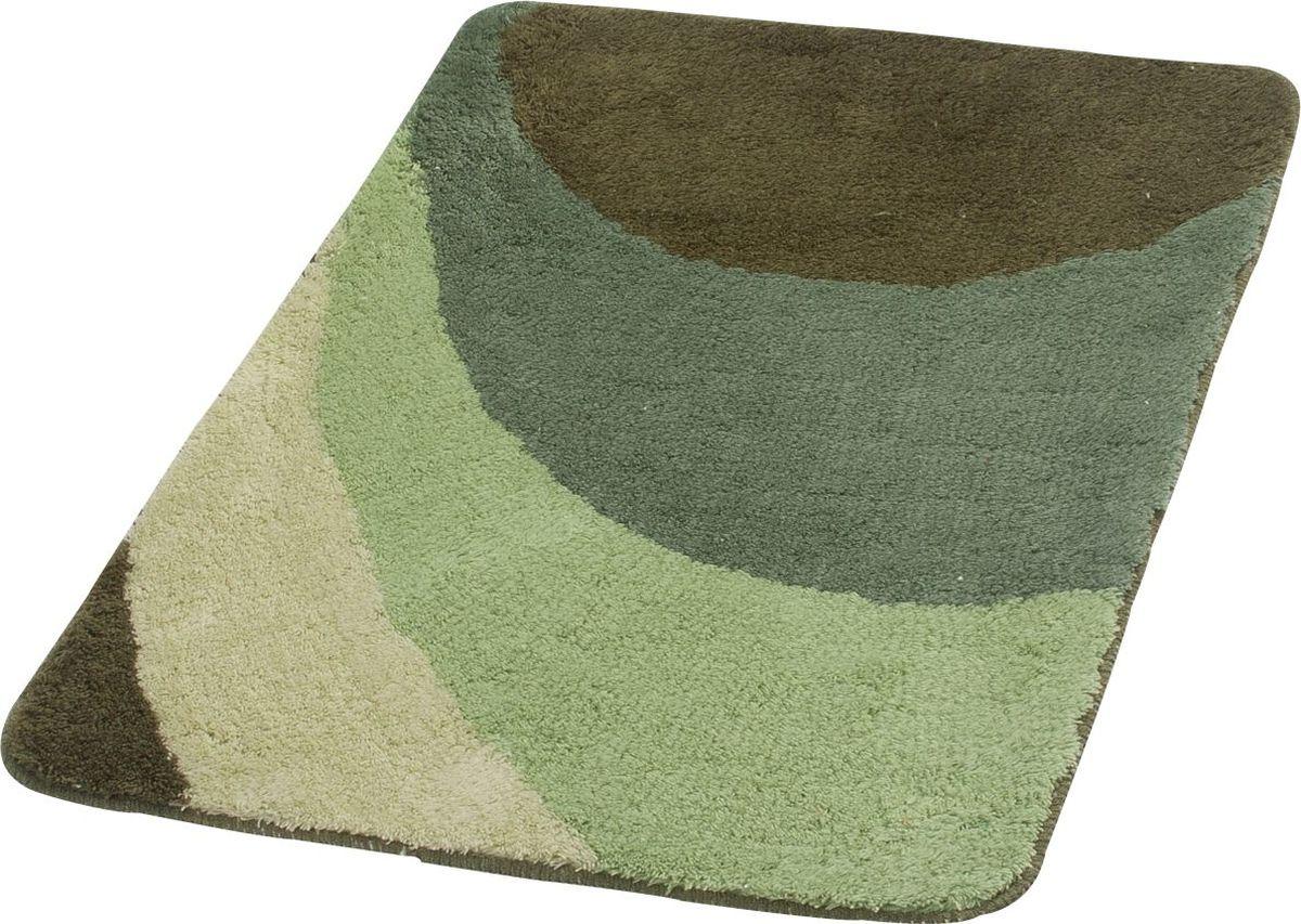 Коврик для ванной Ridder  Tokio , цвет: зеленый, 60 х 90 см - Коврики