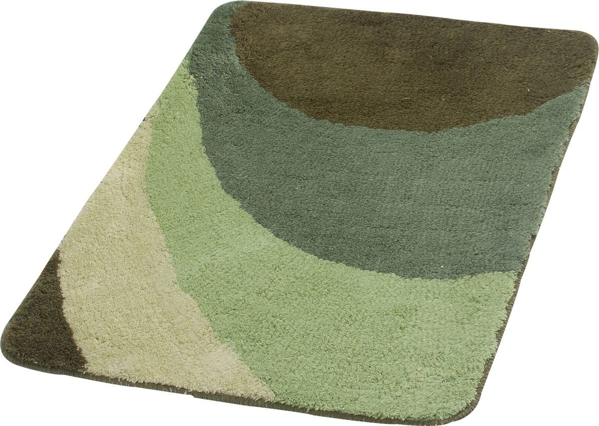 Коврик для ванной Ridder  Tokio , цвет: зеленый, 70 х 120 см - Коврики