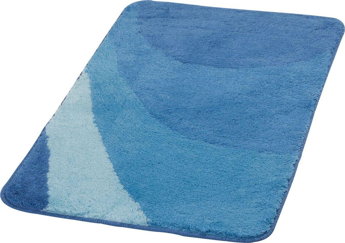 Коврик для ванной Ridder Tokio, цвет: синий, голубой, 70 х 120 см babyono коврик противоскользящий для ванной цвет голубой 70 х 35 см