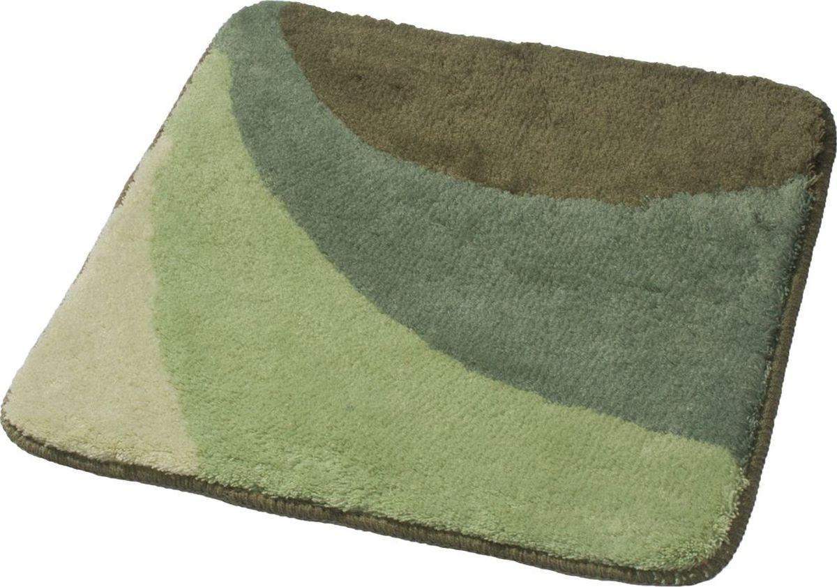 Коврик для ванной Ridder Tokio, цвет: зеленый, 55 х 50 см коврик для ванной ridder grand prix цвет белый синий 55 х 85 см