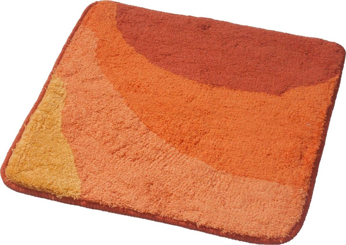 Коврик для ванной Ridder Tokio, цвет: оранжевый, 55 х 50 см