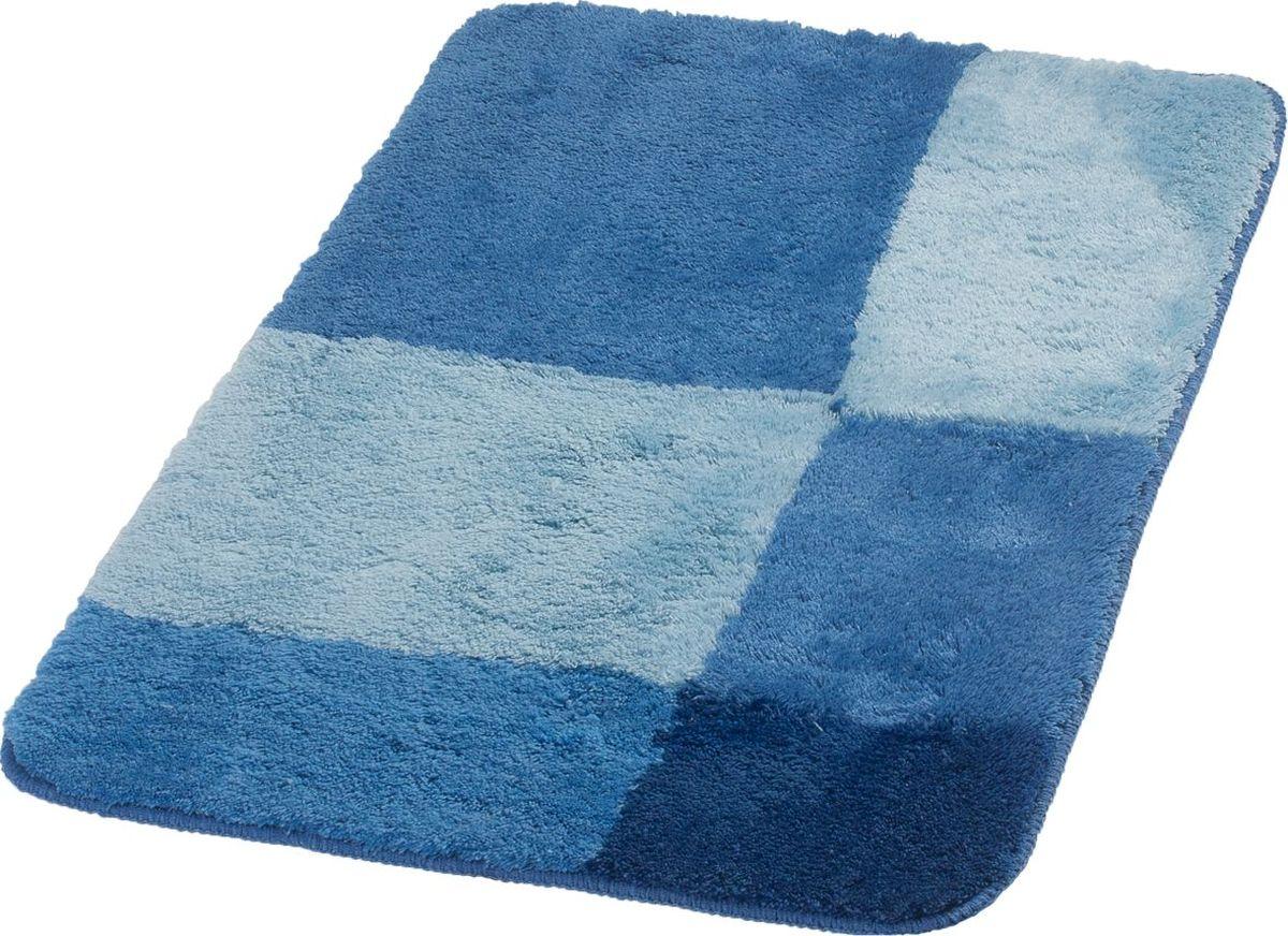 Коврик для ванной Ridder Pisa, цвет: синий, голубой, 60 х 90 см babyono коврик противоскользящий для ванной цвет голубой 70 х 35 см