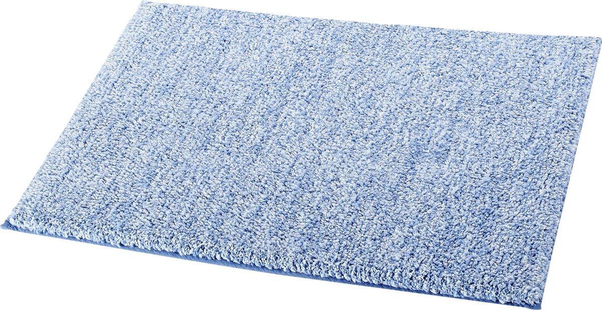 Коврик для ванной Ridder Melange, цвет: голубой, 55 х 50 см коврик для ванной ridder grand prix цвет белый синий 55 х 85 см