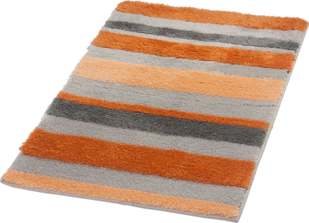 Коврик для ванной Ridder Tutu, цвет: оранжевый, 70 х 120 см коврик для ванной ridder la ola цвет серый 60 х 90 см