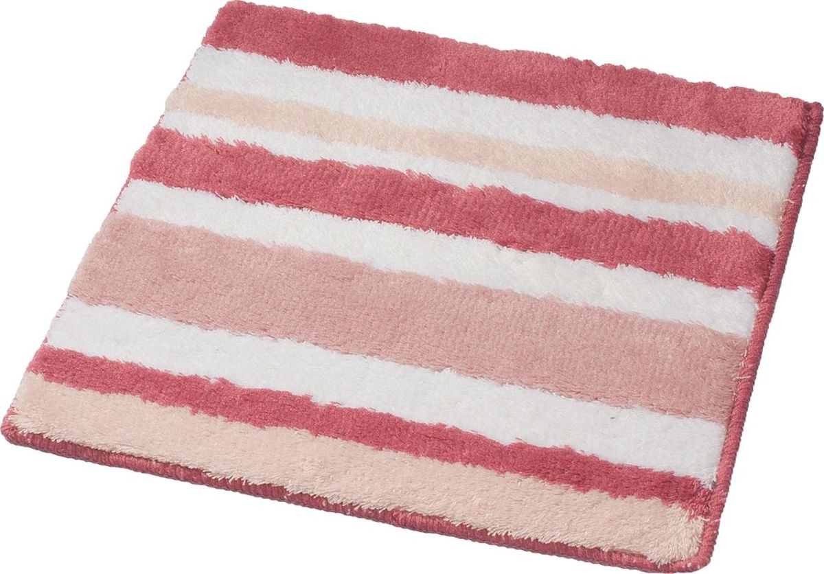 Коврик для ванной Ridder Tutu, цвет: розовый, 55 х 50 см babyono коврик противоскользящий для ванной цвет зеленый 55 х 35 см